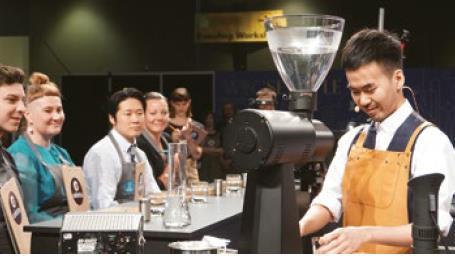 陈冠豪 世界咖啡师大赛