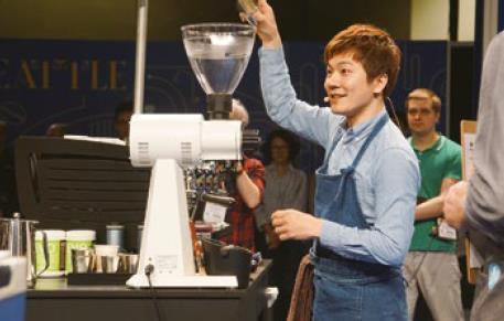 Berg Wu 咖啡师大赛