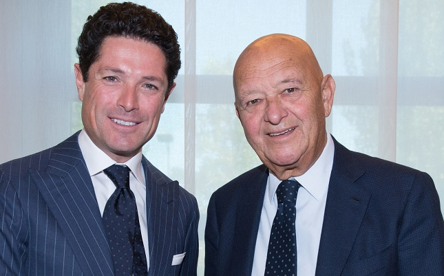 Matteo Marzotto(vicepresidente Italian Exibition Group) e Lorenzo Cagnoni (presidente Italian Exibition Group)